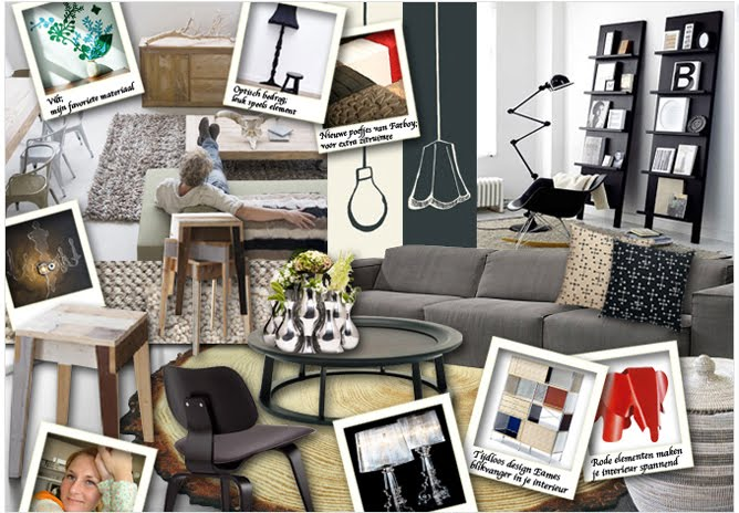 collage interieur