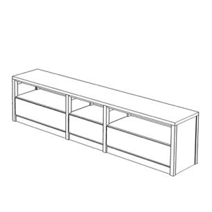 model dressoir
